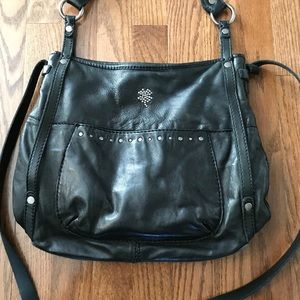 Lucky Brand Cross Body (black leather)